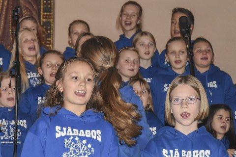 GRATIS: Sjåbagoskonserten avsluttes med kaffe, kaker og saft. Her fra en konsert koret holdt i desember i fjor.