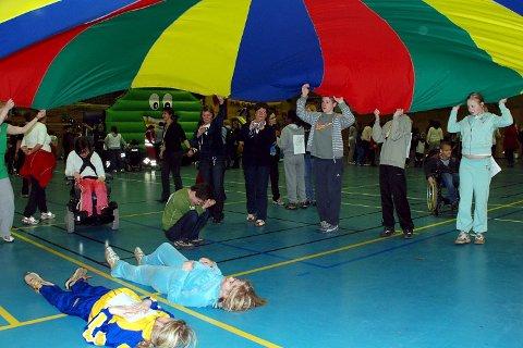 St. Hallvardlekene: Det blir en dag med fokus på lek og moro, farger og musikk. Arkivbilde