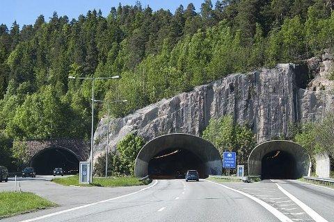 REHABILITERT: Alle de tre tunnelløpene er nå ferdig rehabiliterte, og mandag markerer veivesenet at jobben er gjort.