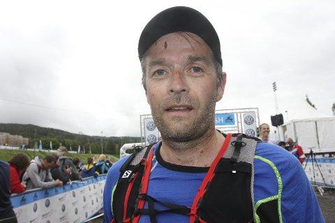 HARDHAUS: Hans Petter Økern er en skikkelig tøffing. Tranby-sliteren hadde all mulig grunn til å være fornøyd etter at han hadde fullført Ultra-Birken på nytt.