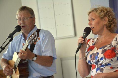 PEPAR OCH SALT: Søndagens sommerkonsert med Mari og Werner ble en melodiøs og behagelig opplevelse. tekst og foto: stein styve