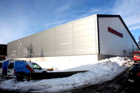 FÅR SPILLEMIDLER: Heiahallen på Lierskogen er tildelt 4,7 millioner kroner i spillemidler.