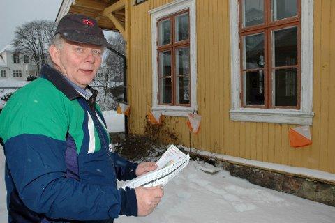 Både og: Arne Ask var fornøyd med laginnsatsen, men egen individuelle innsats var han ikke like glad for. arkivbilde