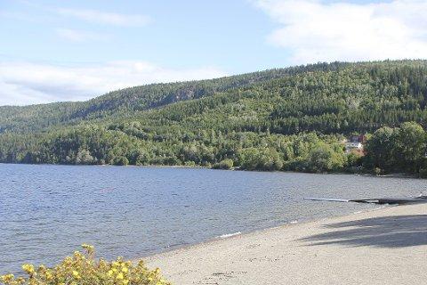 Reneste vann: Svangstrand kommer ut med lavest verdier i målingene av badevann i kommunen, og har dermed det reneste vannet.