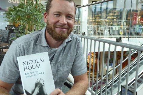Favoritten: Nicolai Houm gikk helt til topps i kåringen av Bokbloggerprisen for den kritikerroste boka Jane Ashlands gradvise forsvinning.