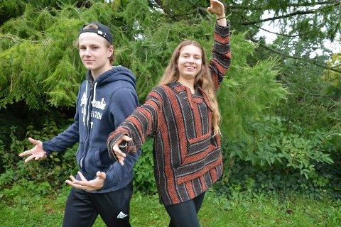 KLARE FOR DANS: Susanne Krisak (Tranby) og Truls Helstad (Slemmestad) er spente foran en høst med opplæring i Den Norske Opera & Ballett.