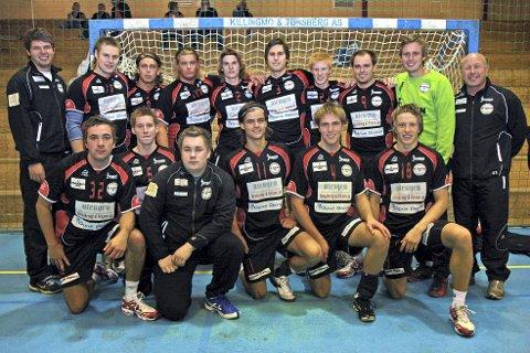 Den gangen: Her er SHK i 2008. Det blir gjensyn med gamle helter når det inviteres til jubileumskamp i Reistad Arena førstkommende lørdag.