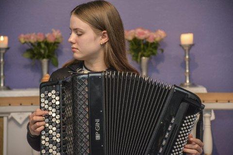 Kan få stipend: Anna Ouff Grøthe er en av de fem som kanskje får stipendet på 15.000 kroner.