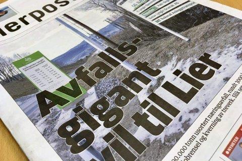 KRITISK: André Liberg ønsker ikke en Stena Recycling-etablering i Lier.