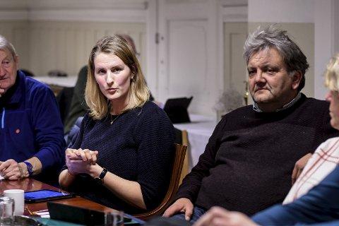 Tar et oppgjør: – Debatten har i for stor grad vært preget av overdrivelser, halvsannheter og til og med direkte usannheter, sa Venstres Maria Løkstad Grande i onsdagens møte i miljøutvalget.FOTO: PÅL A. NÆSS
