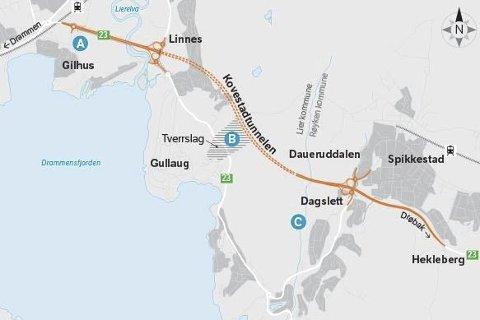FULL STANS: I november ble alt arbeid med Dagslett - Linnes stanset etter at nye prisoverslag viste en kraftig prisøkning.