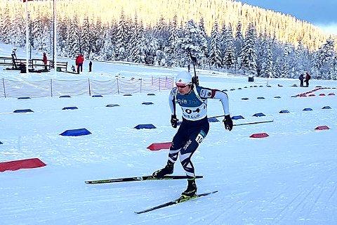 Sterk norgescupåpning: Mats Øverby endte opp med en førsteplass og en annenplass i sesongens første norgescuprenn i skiskyting. Nå kan det bli VM-tur på 17-åringen.