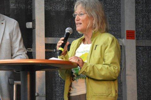 Var i tvil: MDGs Janicke Solheim erkjenner at hun var i tvil da hun stemte for utbyggingen på Klinkenberghagan.
