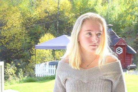 Et sjokk: Charlotte Engebretsen (16) sier det var et forferdelig sjokk å se manipulerte bilder av seg selv på internett.