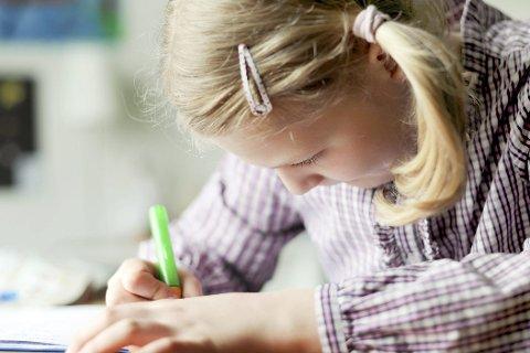 LEKSER: Hjemme eller på skolen? Foto:  NTB scanpix