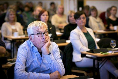 FORSVARER: Høyres Søren Falch Zapffe forsvarer vedtaket om konkurranseutsetting av kommunale tjenester, men erkjenner at det kan ha skapt usikkerhet.