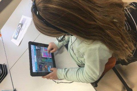 IPad til alle: De første iPadene tas i bruk i skolen til høsten.