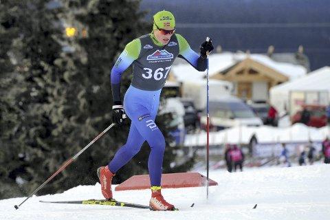 Overrasket seg selv med NM-medalje: Andreas Kirkeng tok bronse i helgens junior-NM i sprintlangrenn i Holmenkollen. På forhånd håpet han å kunne nå en semifinale. arkivbilde