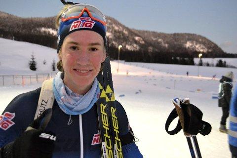 Fornøyd: Et solid løp ble belønnet med 2. plass for Lier-løperen Vetle Rype Paulsen.
