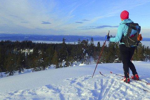 Mange opplevelser: For alle som ønsker en aktiv vinterferie, er det en drøss av muligheter også med utgangspunkt fra Lier.