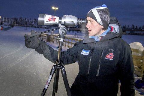 På vei Til Pyeongchang: Anders Brun Hennum blir å finne i det norske støtteapparatet til skiskytterne under OL. arkivfoto