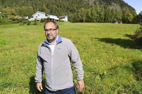 Ny vurdering: Grunneier Per Christian Karlsen varslet et mulig søksmål til Lier kommune etter vedtaket i kommunestyret. Nå kommer saken opp til ny behandling.FOTO: LARS JOHNSEN