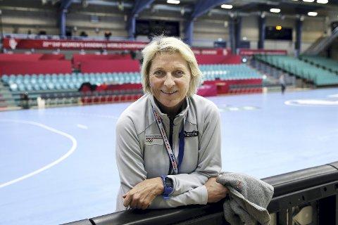 Kolding, Danmark 20151215.Håndball-VM 2015 for kvinner.Marit Breivik er  sommeridrettssjef i Olympiatoppen. Hun er på plass i hallen i Kolding.Foto: Vidar Ruud / NTB scanpix
