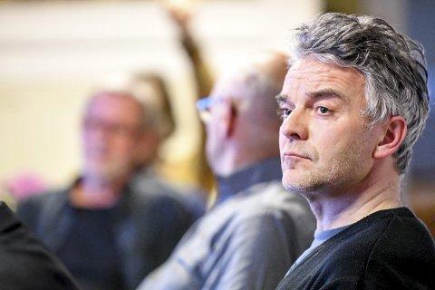 FORSLAGSSTILLER: Øyvind Leirset (V) fremmet forslaget om å utsette videre behandling av Klinkenberghagan i påvente av nye utredninger. Han fikk med seg hele planutvalget.FOTO: PÅL A. NÆSS