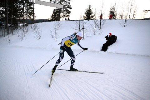 SLO TIL: Mats Øverby slo tilbake etter sykdom, og sikret seg gull i junior-NM. På plassen bak klubbkamerat Vetle Rype Paulsen.