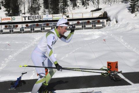 Full klaff: Sivert Rusten gjorde det godt i Hovedlandsrennet og dro hjem med to medaljer.