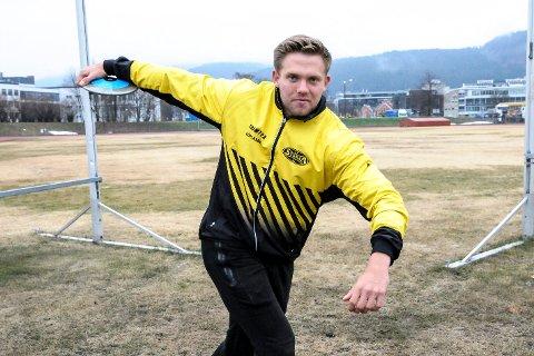 EM-klar: Ola Stunes Isene skal til EM i friidrett i Berlin.