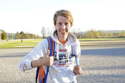 Hjemmeseier: Fredrik Frossdal fra Sylling løp inn til sin første seier i Kanada rundt da han var raskest på sekskilometeren i årets løp.