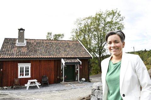 ET FYRTÅRN: Ordfører Gunn Cecilie Ringdal har bedt administrasjonen jobbe fram noen tanker for hvordan Thorleif Haugs barndomshjem kan bli en del av 20242-feiringen.