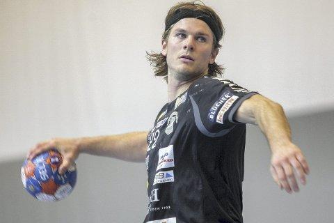 Gir seg: Fredrik Utengen har spilt sin siste håndballkamp i SHK-drakta. Foto: Simen Næss Hagen
