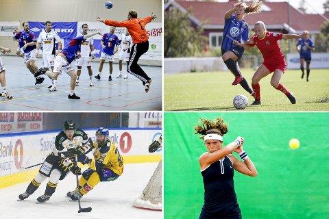 Stort utvalg: Alle abonnenter har tilgang på sportskanalen Norgessporten. Her vises det direktesendte kamper innen flere idretter. Foto: Scanpix