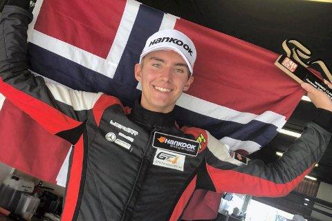 Marcus Påverud har en spennende helg foran seg på racingbanen i Dubai.