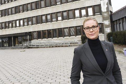 VALGKLAR: Silje Kjellesvik Norheim er Arbeiderpartiets ordførerkandidat, og tror det kan være mulig å presse Høyre ut av rådhuset.FOTO: PÅL A. NÆSS