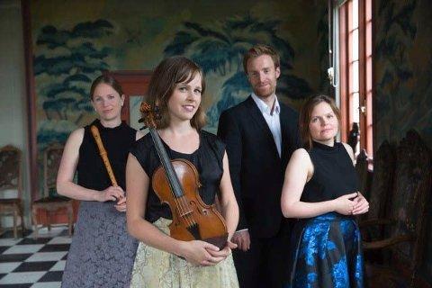 Tidsreise: Ensemblet Christian IV Consort skal ta publikum med tilbake i tid.