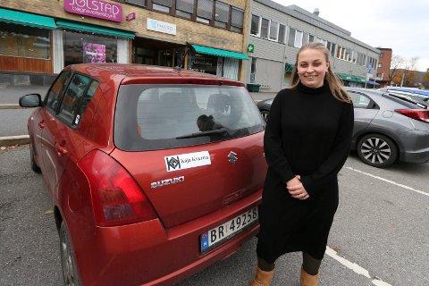 UNG UTVALGSLEDER: Kaja Kværner (Sp) har mange jern i ilden. Hun blir leder for det nye landbruksutvalget. I tillegg er hun blant annet student og har eget firma.
