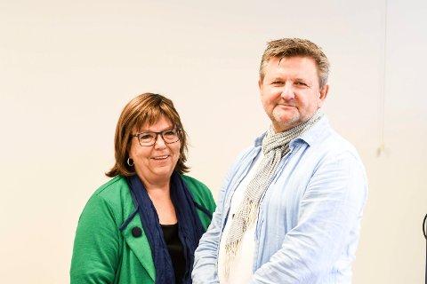 EN NY TID: May Kværnstuen og Jon-Kristian Pedersen inviterer til åpent møte om helse- og velferdsteknologi.