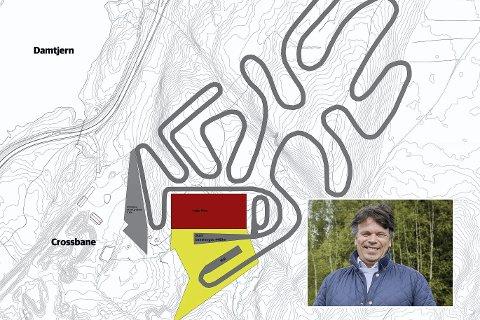 Spent: Pål Thomassen (innfelt) er spent på hva som skjer med planene om et helårsanlegg i Leirdalen i kommuneplanen.