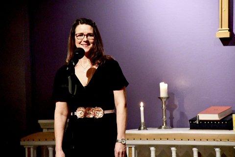 Margrethe Heltzer Andersen fra Tranby og trioen Master and Margo opptrer på kulturscenen førstkommende søndag. Konserten kan du se på nett.