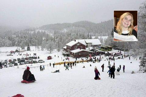 Akebakke, meny og løyper ligger klare: Søndag inviteres det til stor ski- og akedag på Eiksetra.