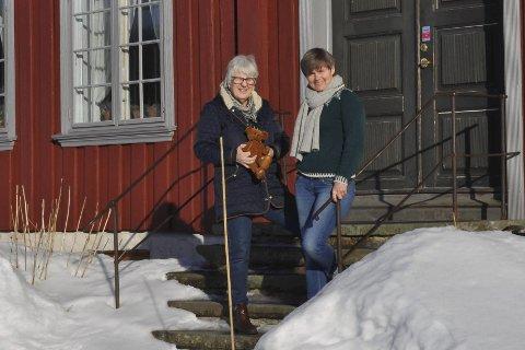 Velkommen: Solveig Lauvålien og Vibeke Clausen gleder seg til håndverkshelg.