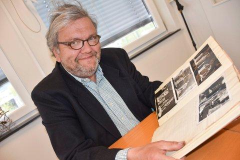 Gleder seg: Knut Olaf Kals gleder seg over bokprosjektet, og spesielt over at boka kommer ut 125 år etter at Hauern ble født.