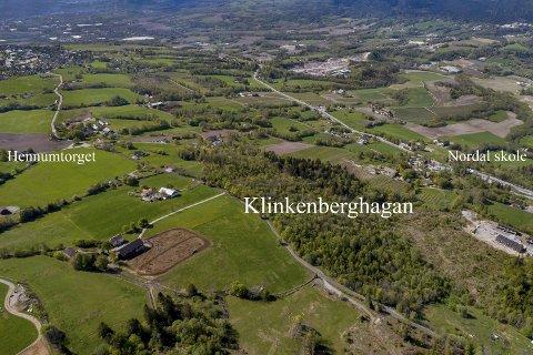 Blir stående: Klinkenberghagan tilbakeføres til LNF-område etter mange års kamp.