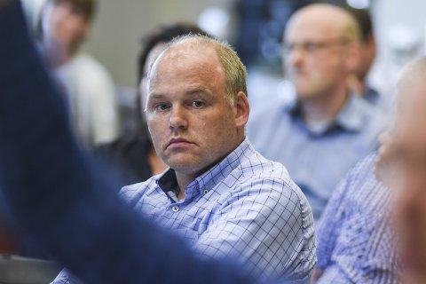 Avventende: Sps Espen Lahnstein sier kommunestyrets vedtak avgjør framtiden for samarbeidet med de andre styringspartiene.
