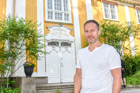 Utvider: Richard Skaar Thorsrud, administrerende direktør i Skaar Omsorg, har utvidet antallet sykehjem selskapet driver. Arkivfoto
