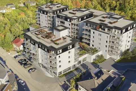 STORPROSJEKT: Allerede til høsten kan byggingen av Elvenbredden Park starte. Totalt skal det bygges 65 leiligheter med en samlet utalgspris på 330 millioner.