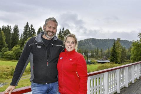 Sommerleir på «setra»: Anne Nymoen Jensen og Sven Helgevold inviterer til sommerleir på Eiksetra i juli.
